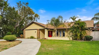 Tarpon Springs Single Family Home For Sale: 1113 Carlton Road