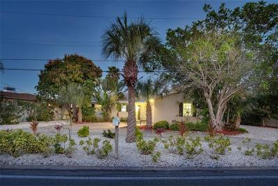 Saint Pete Beach, St Pete Beach, St Petersburg Beach, St. Pete Beach Single Family Home For Sale: 3959 Poinsettia Drive