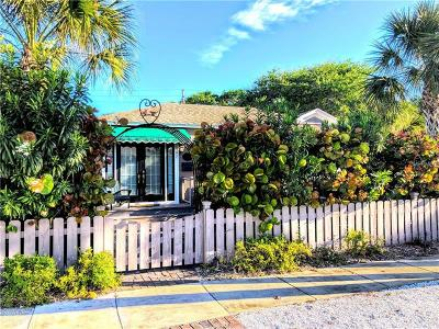 Treasure Island, St Pete Beach Single Family Home For Sale: 107 17th Avenue
