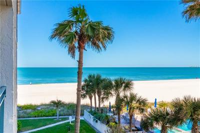 Clearwater Condo For Sale: 1390 Gulf Boulevard #204