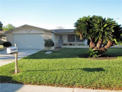 Holiday Single Family Home For Sale: 5331 Bob White Drive