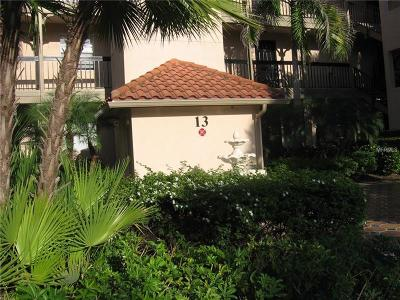 Clearwater, Clearwater Beach Rental For Rent: 2400 Feather Sound Drive #1317