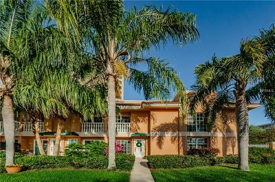 St Petersburg, St Pete Beach, St Petersburg Beach Townhouse For Sale: 922 N Shore Drive NE