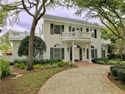 St Petersburg, Saint Petersburg Single Family Home For Sale: 1537 Coral Way S
