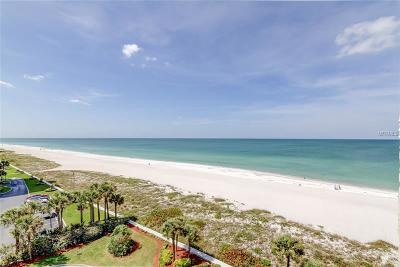 Clearwater Beach Condo For Sale: 1430 Gulf Boulevard #609
