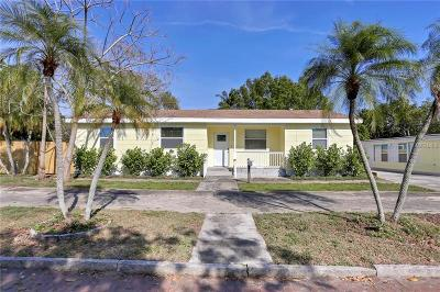 St Petersburg Single Family Home For Sale: 453 44th Street N