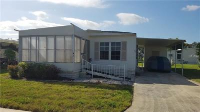 Tarpon Springs Mobile/Manufactured For Sale: 39820 Us Highway 19 #90