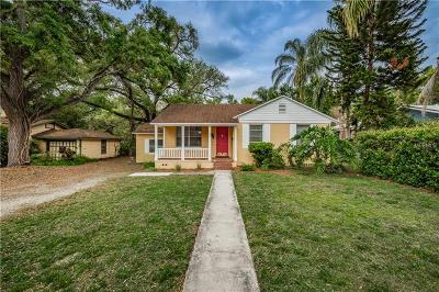 Tampa Single Family Home For Sale: 1006 E Jean Street