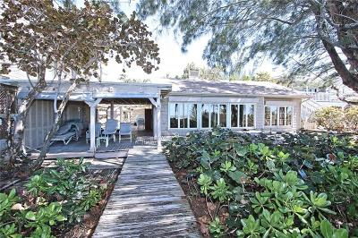 Single Family Home For Sale: 19808 Gulf Boulevard