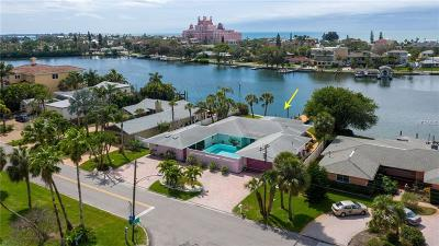 Treasure Island, St Pete Beach Single Family Home For Sale: 3730 Belle Vista Drive