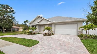 Tarpon Springs Single Family Home For Sale: 1016 Gulf Road