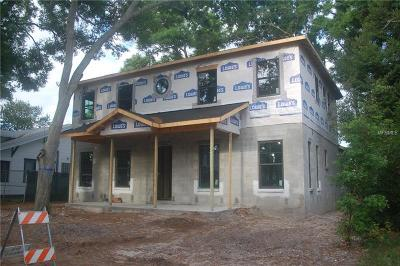 St Petersburg, St Pete Beach, St Petersburg Beach Single Family Home For Sale: 1002 5th Street N