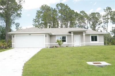 Single Family Home For Sale: 1724 Geranium Avenue