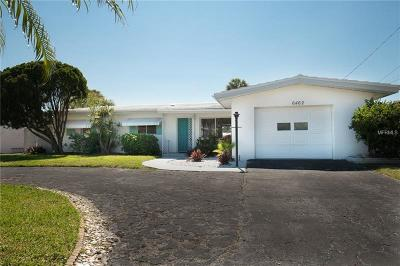 St Pete Beach Single Family Home For Sale: 6462 1st Palm Point