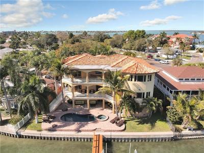 Saint Pete Beach, Saint Petersburg, St Pete, St Pete Beach, St Pete Beach., St Peterburg, St Petersburg, St. Petersburg Single Family Home For Sale: 7802 Causeway Boulevard S