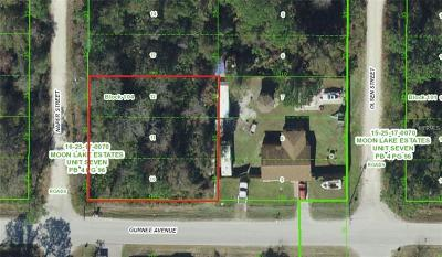 New Port Richey Residential Lots & Land For Sale: Gurnee Avenue #10-12