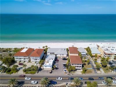 Indian Rocks Beach Duplex For Sale: 42 Gulf Boulevard #F