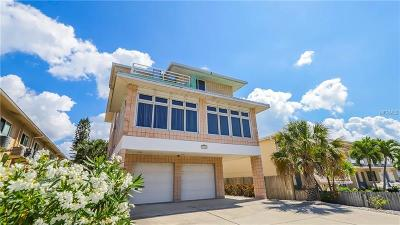 Madeira Beach Single Family Home For Sale: 14249 Gulf Boulevard