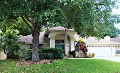Tarpon Springs Single Family Home For Sale: 525 Waterford Circle W
