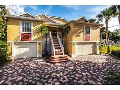 Tarpon Springs Single Family Home For Sale: 212 N Spring Boulevard