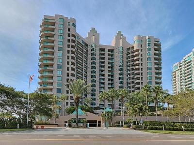 Pinellas County Rental For Rent: 1560 Gulf Boulevard #507