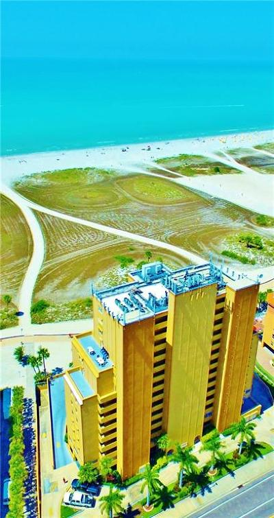 Treasure Island Condo For Sale: 11000 Gulf Boulevard #1204