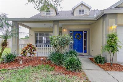 Tarpon Springs Single Family Home For Sale: 1642 Meadow Oak Lane