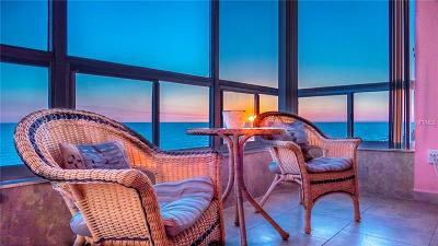 Madeira Beach Condo For Sale: 14800 Gulf Boulevard #602