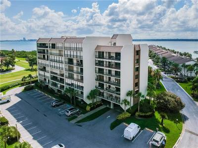 Clearwater, Cleasrwater, Clearwater` Condo For Sale: 1581 Gulf Boulevard #502N