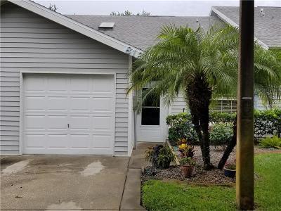 Tarpon Springs Villa For Sale: 39650 Us Highway 19 N #812