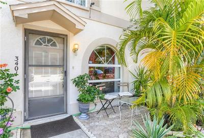 Clearwater Townhouse For Sale: 3401 Brigadoon Drive