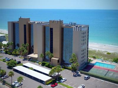 Clearwater Beach, Indian Rocks Beach, Indian Shores, Redington Beach, Redington Shores, Madeira Beach, Treasure Island, Tierra Verde, Belleair Beach, St. Pete Beach, Treasure Island  Condo For Sale: 900 Gulf Boulevard #107