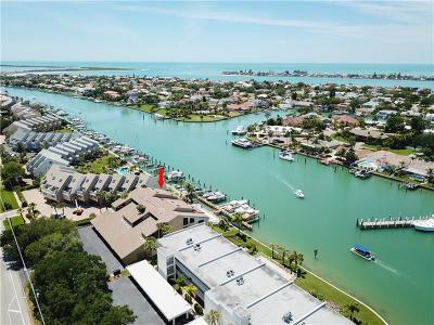 Clearwater Beach, Indian Rocks Beach, Indian Shores, Redington Beach, Redington Shores, Madeira Beach, Treasure Island, Tierra Verde, Belleair Beach, St. Pete Beach, Treasure Island  Townhouse For Sale: 350 Pinellas Bayway