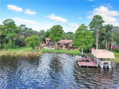 Tarpon Springs Single Family Home For Auction: 307 Lakeview Drive