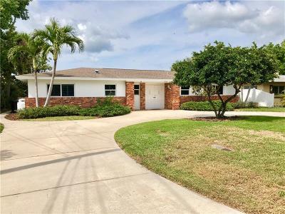 St Petersburg Single Family Home For Sale: 9583 Sun Isle Drive NE