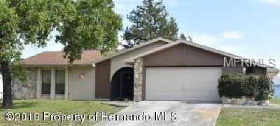 Hernando County Single Family Home For Sale: 7523 Dundee Way