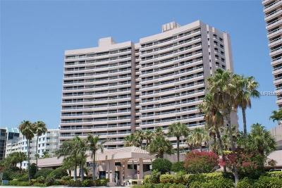 Clearwater Beach Condo For Sale: 1340 Gulf Boulevard #7B