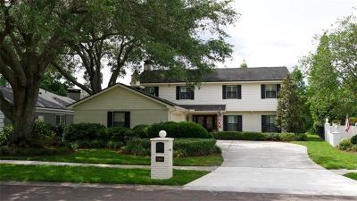 Hillsborough County, Pasco County, Pinellas County Single Family Home For Sale: 3903 Northampton Way
