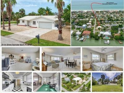 Clearwater, Clearwater Beach Single Family Home For Sale: 64 Iris Street