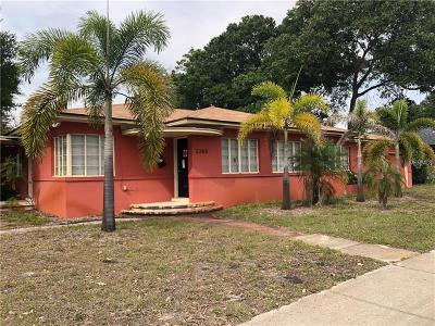 St Pete Beach, St Petersburg, St Petersburg Beach Single Family Home For Sale: 2365 5th Avenue N