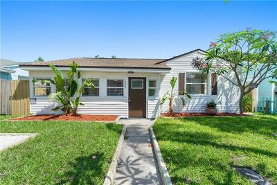Madeira Beach Single Family Home For Sale: 460 S Bayshore Drive