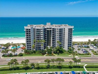 Clearwater Beach Condo For Sale: 1660 Gulf Boulevard #807