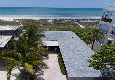 Treasure Island, St Pete Beach Single Family Home For Sale: 3160 2nd Street W