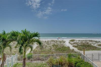 Clearwater, Clearwater Beach, Dunedin, Indian Rocks Beach, Indian Shores, Palm Harbor, Pinellas Park, Saint Petersburg, Seminole, St Petersburg Beach, Tarpon Springs Condo For Sale: 19820 Gulf Boulevard #202