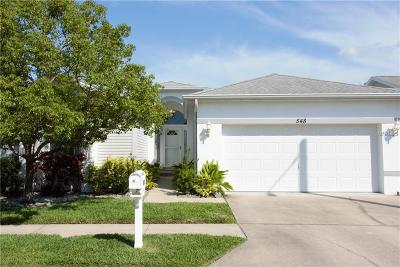 Hillsborough County, Pasco County, Pinellas County Single Family Home For Sale: 548 Trout Lane