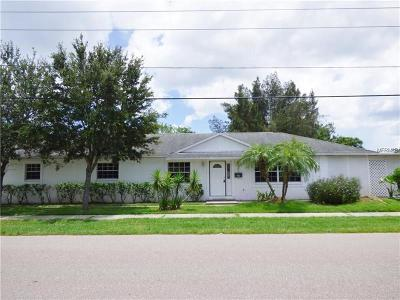 Pinellas Park Single Family Home For Sale: 6498 76th Avenue N