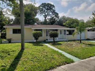 St Petersburg Single Family Home For Sale: 3328 Boca Ciega Drive N