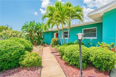 Belleair Beach Single Family Home For Sale: 111 23rd Street
