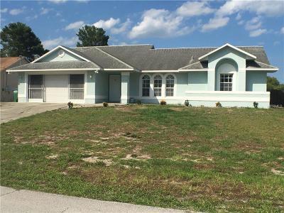 Deltona Single Family Home For Sale: 1649 Horseshoe Terrace