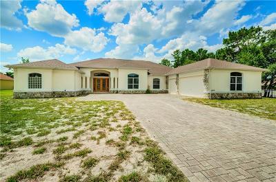 Weeki Wachee Single Family Home For Sale: 10220 Whisper Ridge Trail